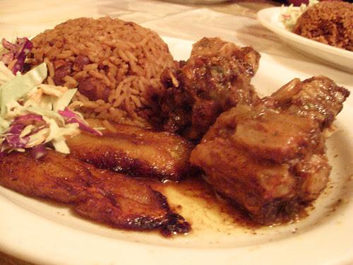 Dinner at Caribbean Treehouse