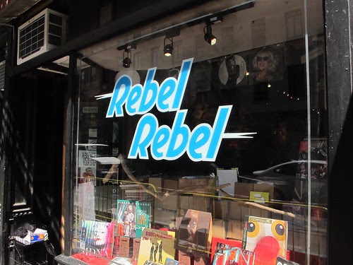 Record Store Visit: Rebel Rebel - New York, NY - 11/21/12 by Tim PopKid