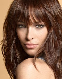 Best Hair Color For Hazel Eyes Fair Olive Skin Warm Tones
