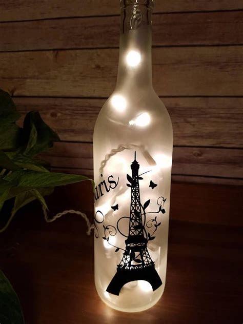 eiffel tower lamp ideas  pinterest paris