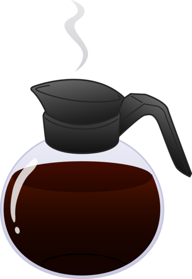 POT A CAFE - CAFETIERE - TUBE - CLIPART