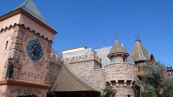 Disneyland, Castle, Wall, Safety