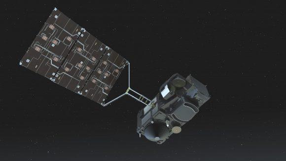Satélite de la ESA para el estudio de los océanos Sentinel 3A (ESA).