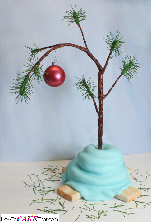 Charlie Brown Christmas Tree Cake How To Cake That
