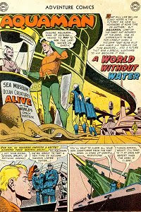 Adventure #251 Aquaman Splash Page