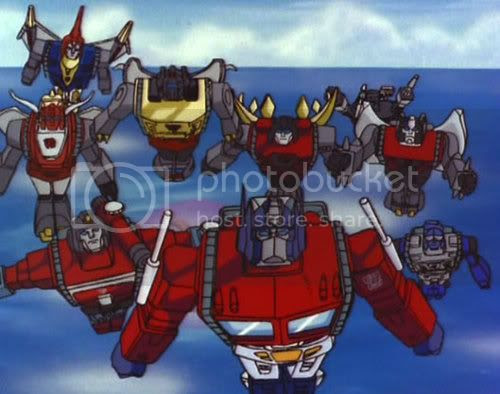 Flying Autobots