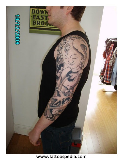 3 Quarter Sleeve Tattoos For Men 1
