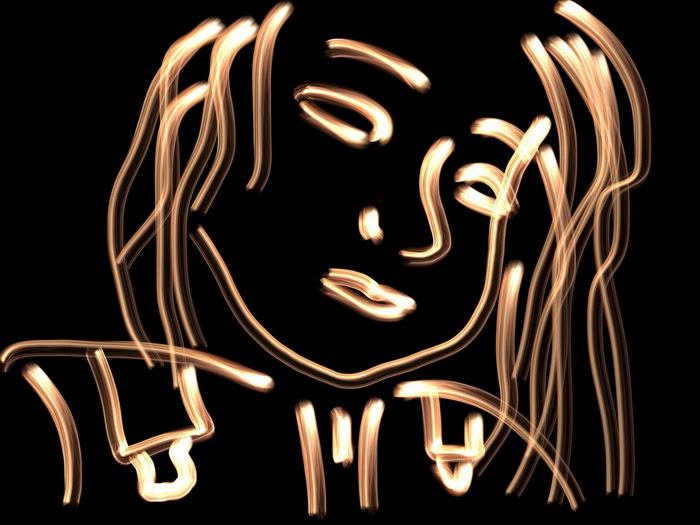 Lume aplicación para hacer Light painting iPad