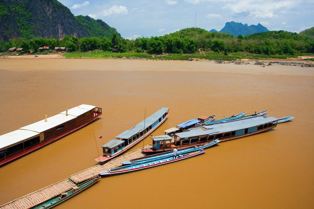 Barcos Mekong
