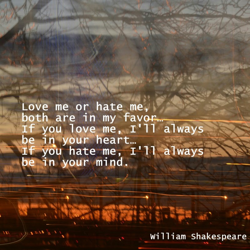 Hate Me Shakespeare Quote Quote Number 703036 Picture Quotes