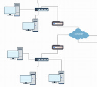 Network Diagram Software to Quickly Draw Network Diagrams ...