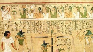 La escritura jeroglífica y el color