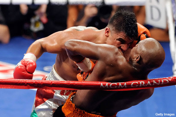 Ortiz vs Mayweather