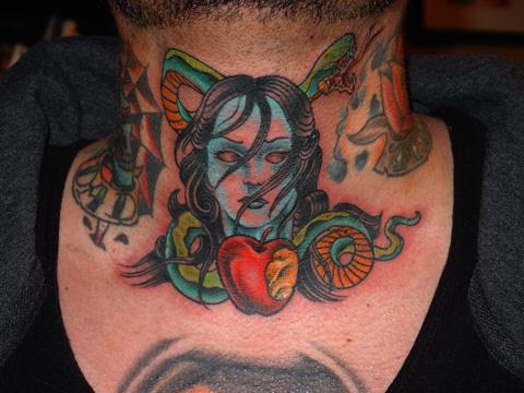 Color Tattoos, originally uploaded by Jim Miner.