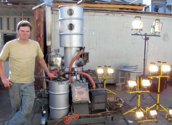 Wood Gas Generator >> Hines Farm Blog: Kelpie Wilson: Hacking the Future
