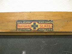 Nat'l School Slate Company Label