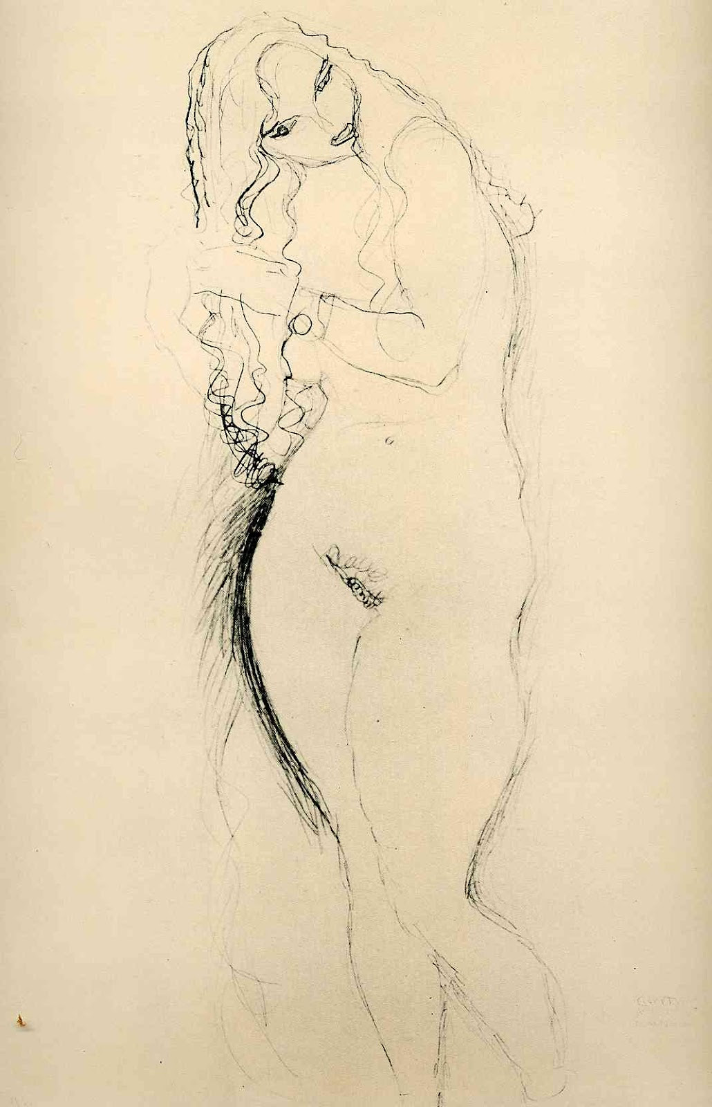 Gustav Klimt erotica sensual25
