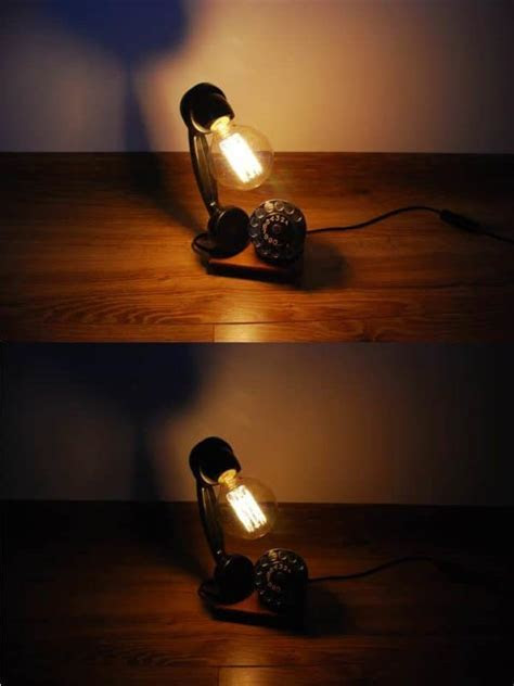 Upcycled Phone Into Lamp ? Recyclart