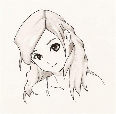 easy anime  draw easy anime girl drawings  pencil easy