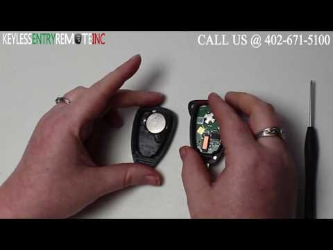 How To Replace A Dodge Durango Key Fob Remote Battery 2005 And 2006 Br Programming Instructions