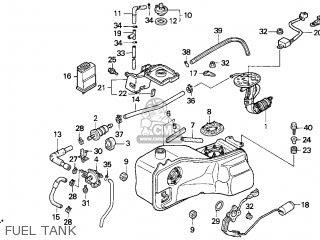 Honda Gl1500se Gold Wing Se 1998 Usa parts list ...