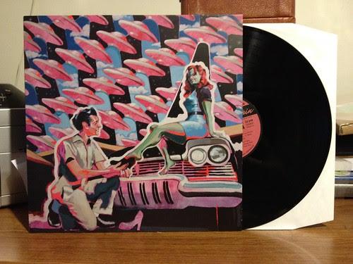 Dan Sartain - Too Tough To Live LP by Tim PopKid