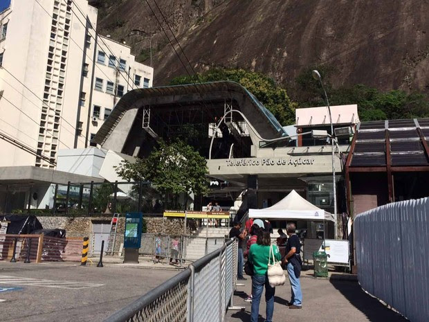 O Pão-de-Açúcar está entre as dez  Rotas Acessíveis criadas pela prefeitura com a realização da Paralimpíada (Foto: Alba Valéria Mendonça/ G1)