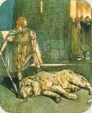 Setanta killed the hound of Culann