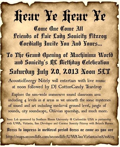 Grand Opening Invite by Kara Trapdoor