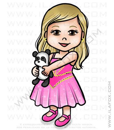 caricatura infantil, caricatura menina, caricatura para crianças, by ila fox