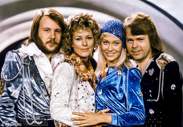 The history book on the shelf: Abbaafter winning the Swedish branch of the Eurovision Song Contest with their song Waterloo