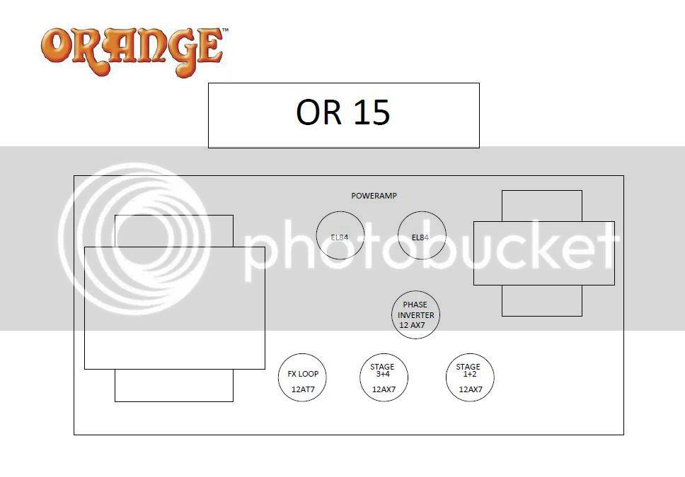 Orange Micro Crush Schematic on