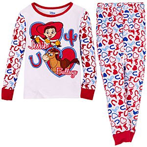 Heart Jessie and Bullseye Toy Story PJ Pal for Girls
