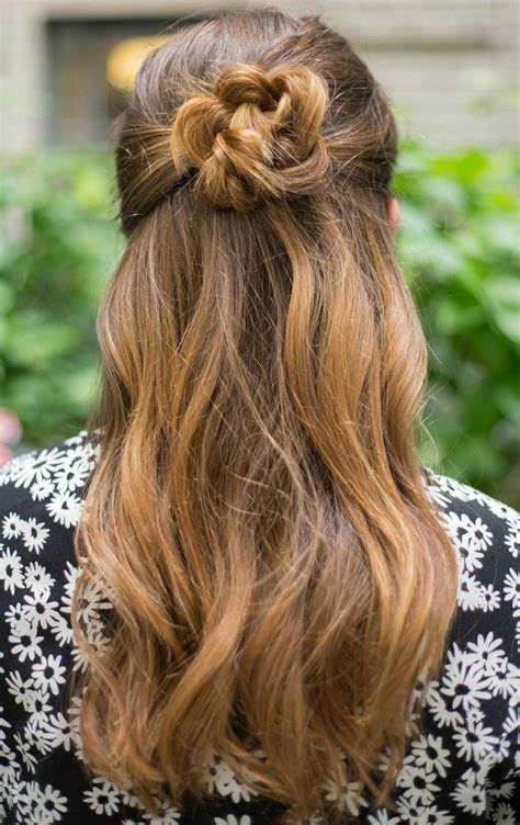 remodelaholic  easy hairstyles   girls