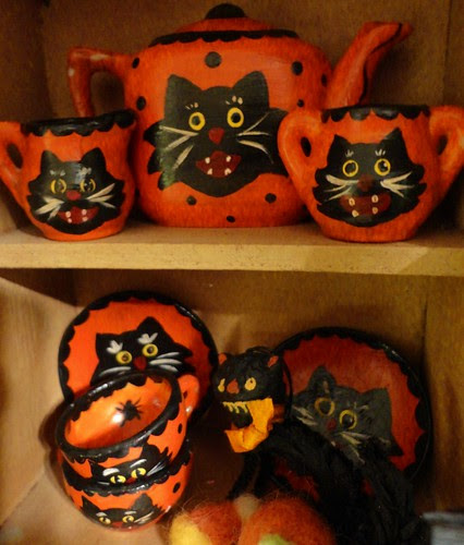 halloween teaset