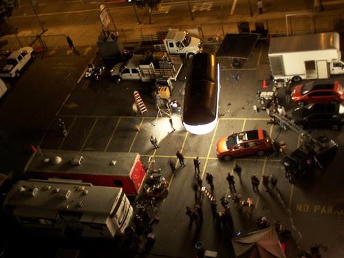 car commercial night shoot
