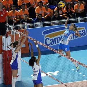 Minas x RIo de Janeiro; Carol Gattaz (Foto: Orlando Bento / Minas Tênis Clube)