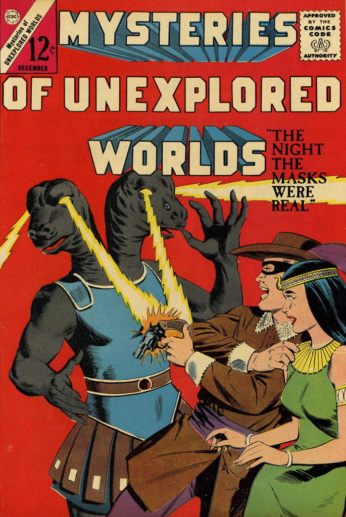 Mysteries of Unexplored Worlds #39 (Charlton, 1962)
