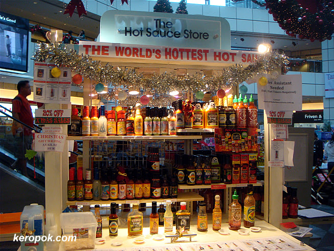 The Hot Sauce Store at Suntec City