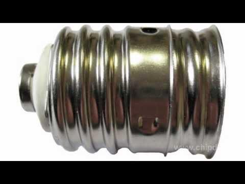 Типы цоколей люминесцентных, галогенных, светодиодных ламп