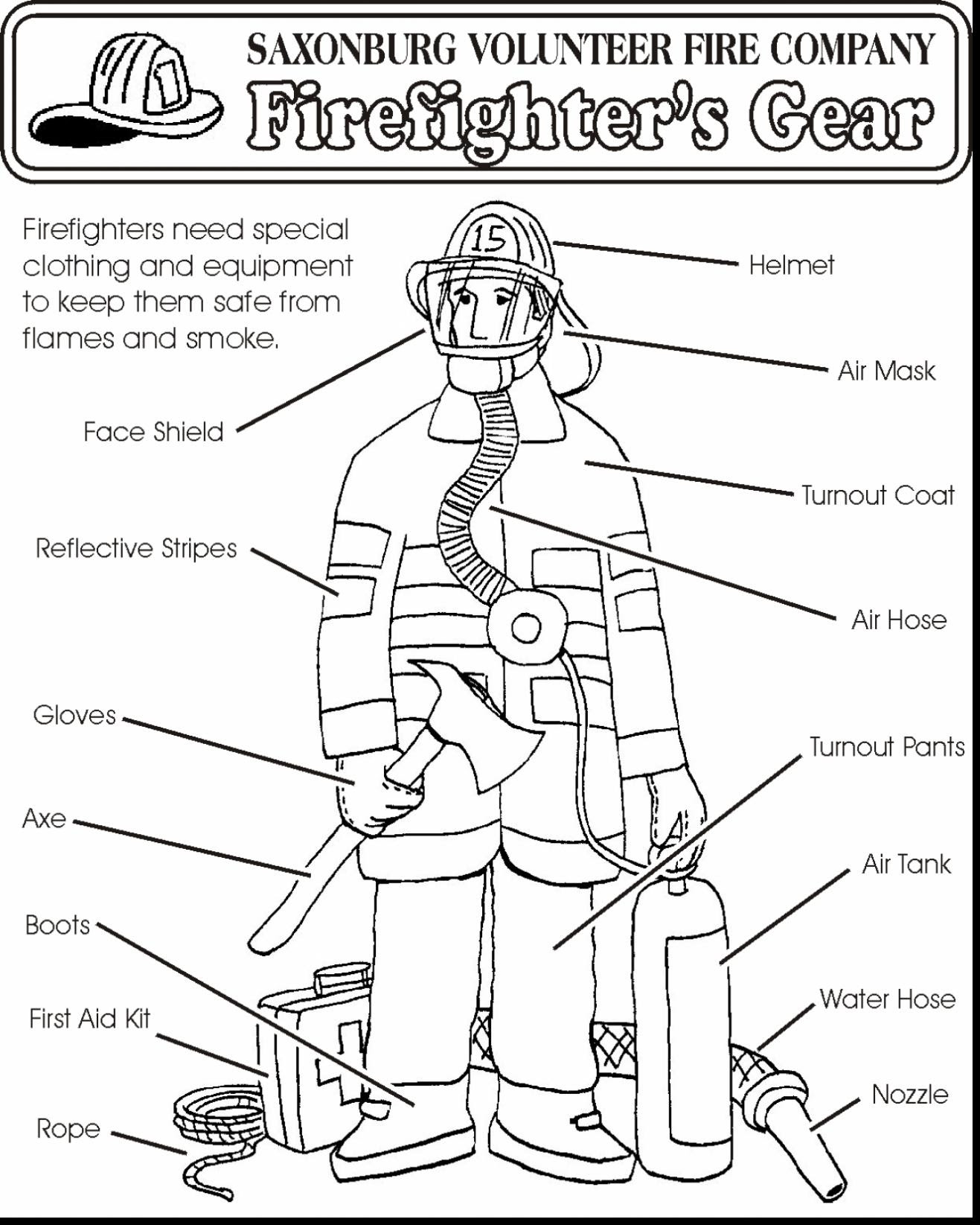 Fire Prevention Coloring Pages at GetColorings.com | Free ...