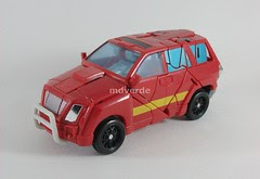 Transformers Ironhide Classic Henkei - modo alterno (by mdverde)