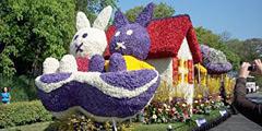 Ежегодно Парад цветов собирает сотни тысяч зрителей. // fressko.com