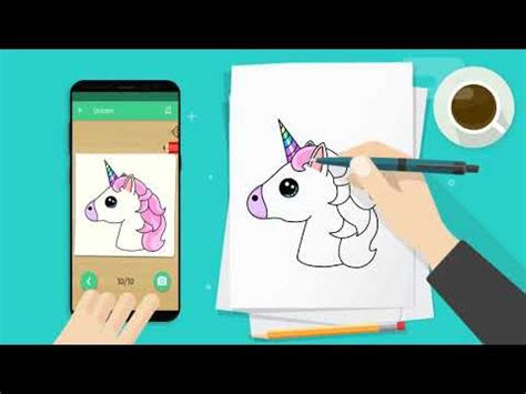 kawaii easy drawing   draw step  step app ranking