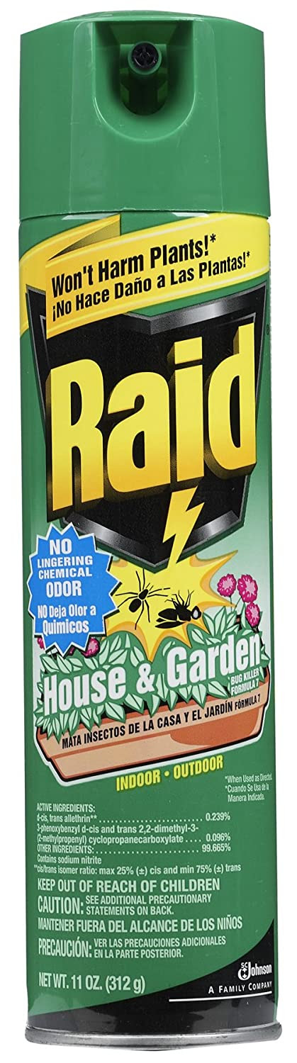 Amazon.com: Raid 01672 House & Garden Bug Killer: Patio, Lawn & Garden