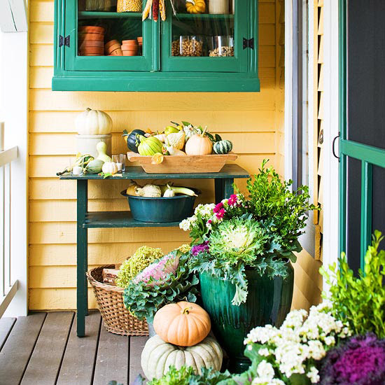 Fall Front Porch Decorating Ideas | Shelterness