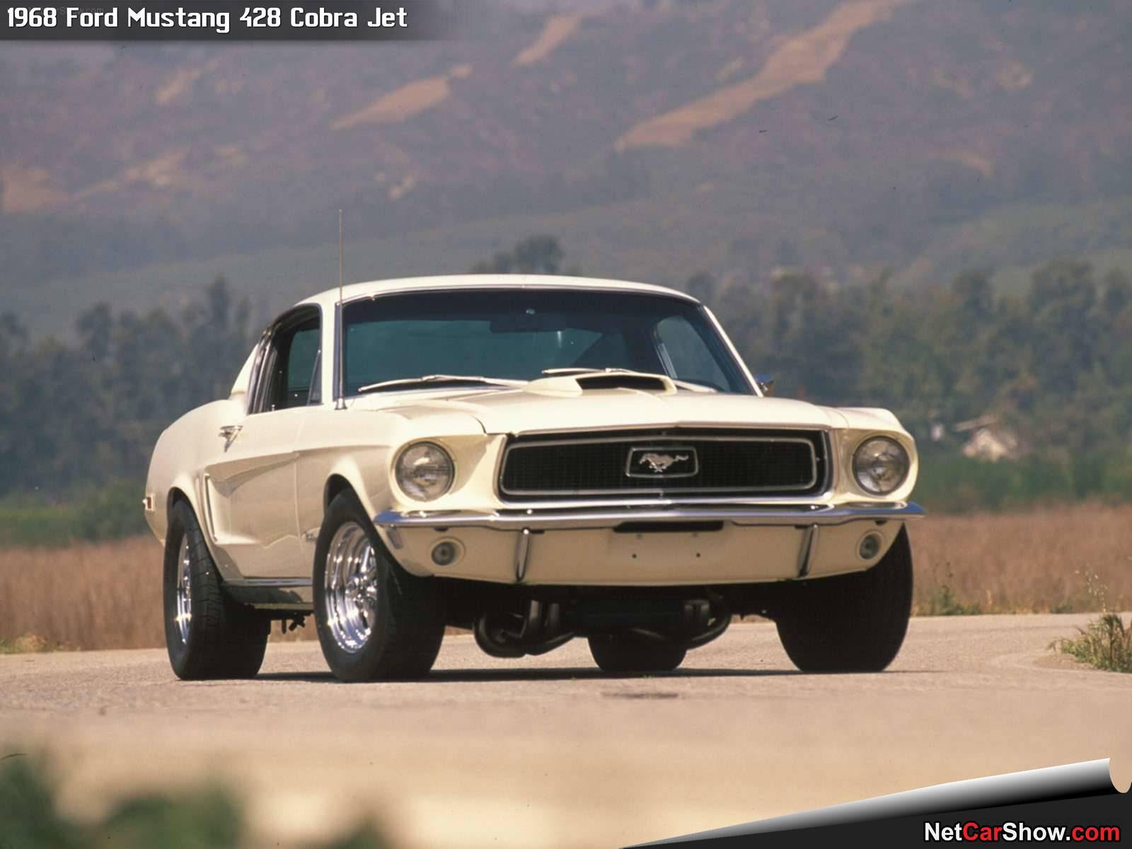 Ford Mustang 428 Cobra Jet (1968)