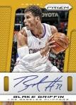 2013-14 Prizm Basketball Blake Gold Auto