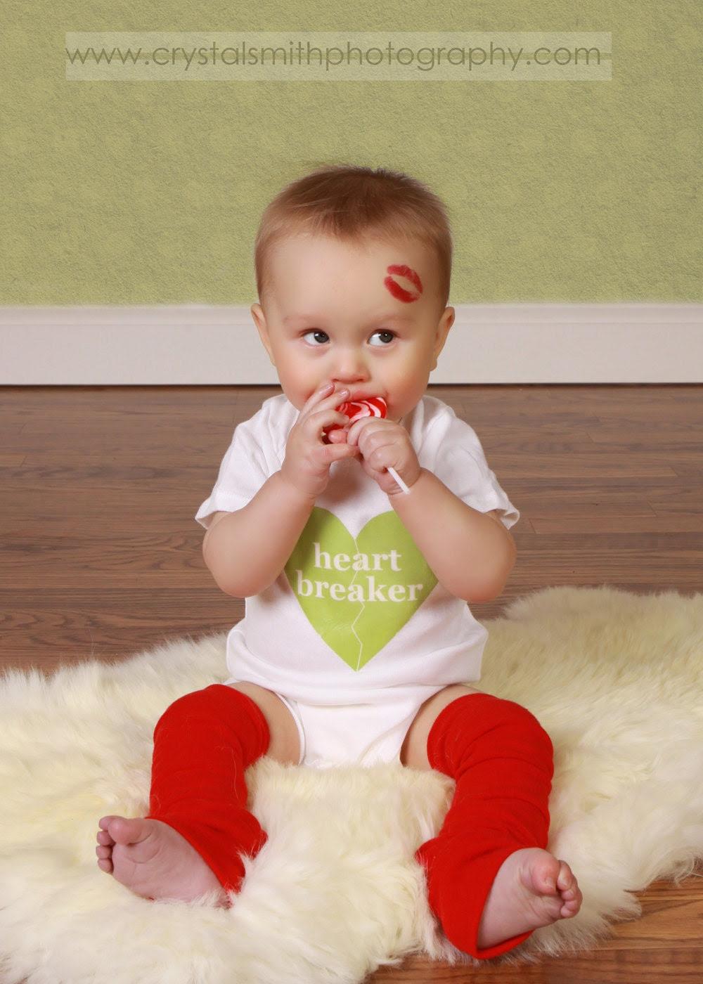 Valentine Red Baby Toddler Leg Warmers