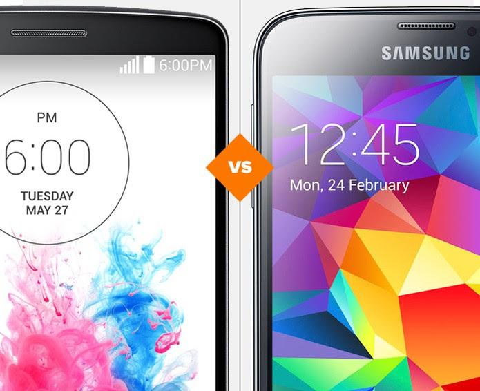 12aabfe2def LG G3 vs Galaxy S5... veja dois comparativos, duas análises